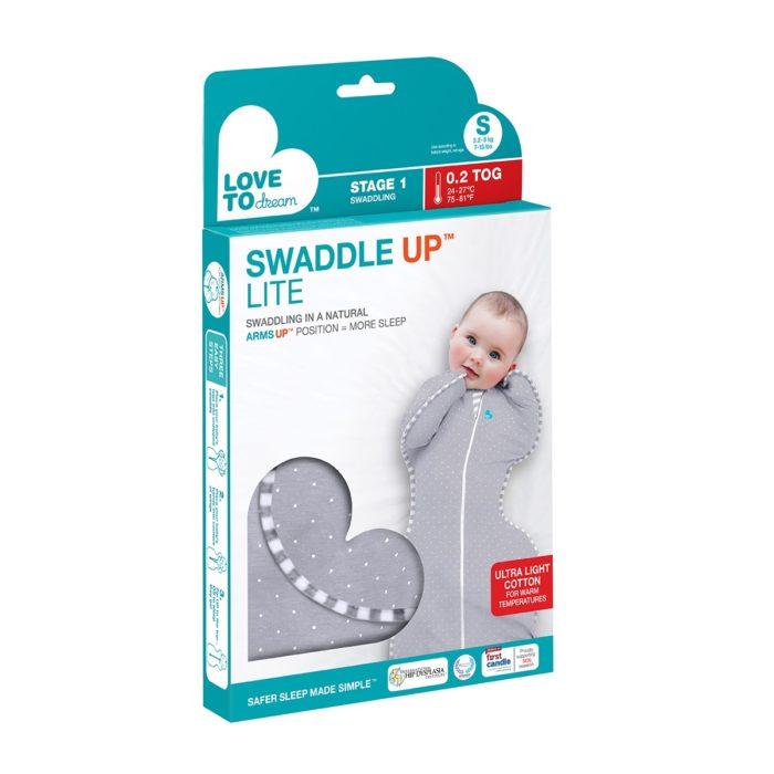 Swaddle Up Lite Grey