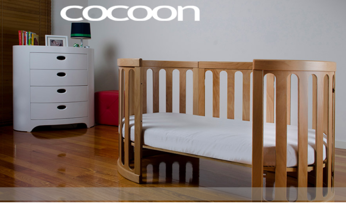 Cocoon Nest toddler bed