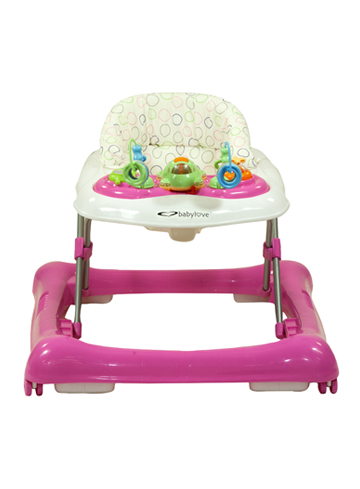 Jazz baby walker pink